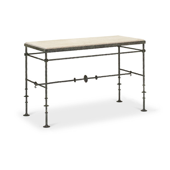 London Iron Console (small)
