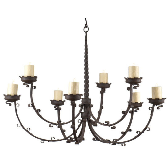 Cluny Chandelier (two-tier)