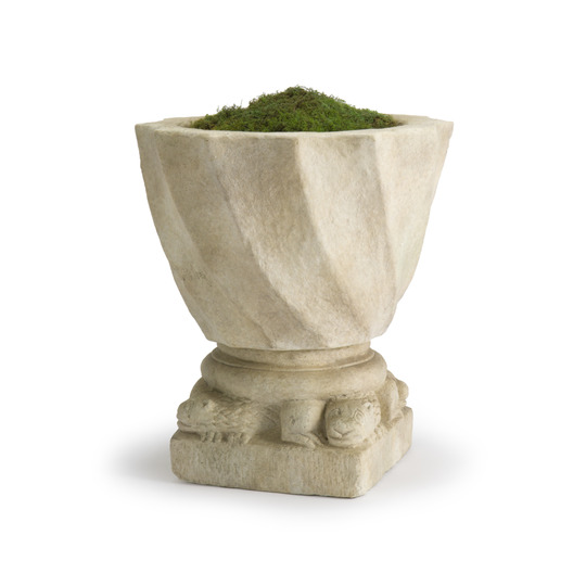 Swirl Planter & Animal Base (small)
