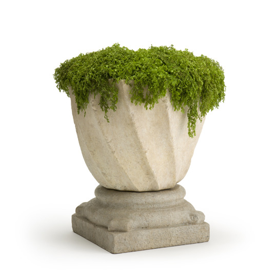 Swirl Planter & Base (medium)