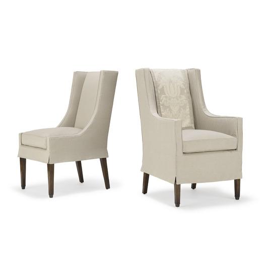 Gregorius Pineo Latour Arm & Side Chairs 5040 & 5041
