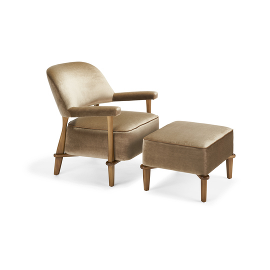 Kensett Lounge Chair & Ottoman
