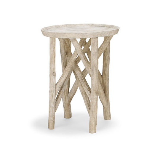 Charmant Twig Branch Side Table (composite Stone)