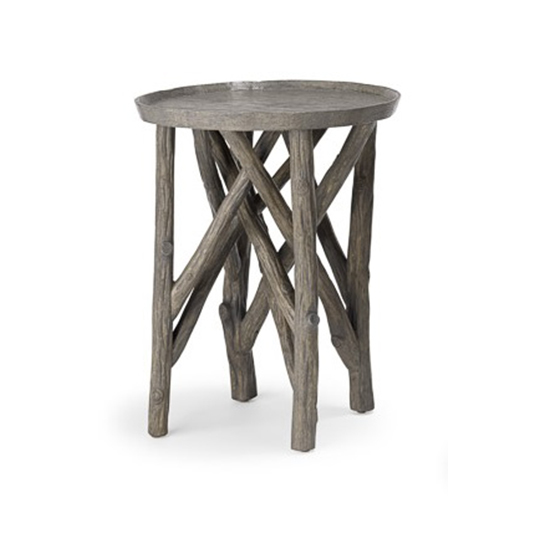 Superbe Twig Branch Side Table