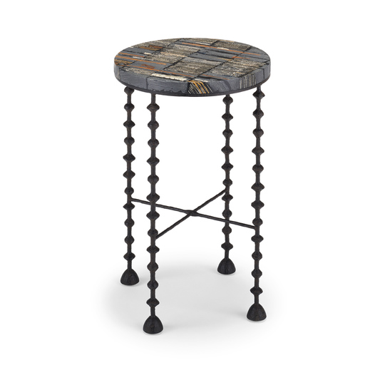 Benin Side Table (round)