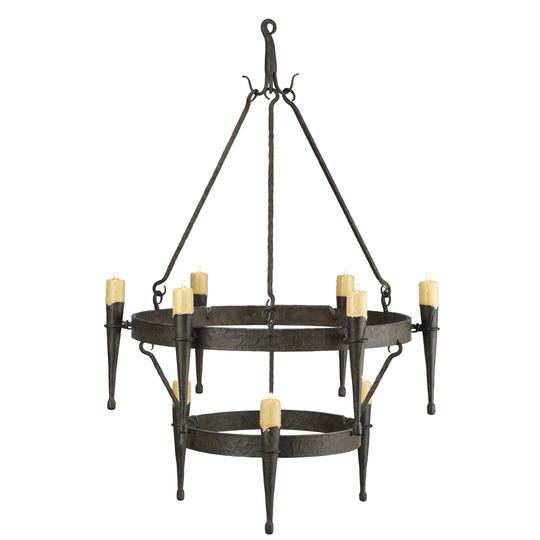 Gregoriuspineo cabrillo two tier chandelier 8116 cabrillo two tier chandelier aloadofball Gallery