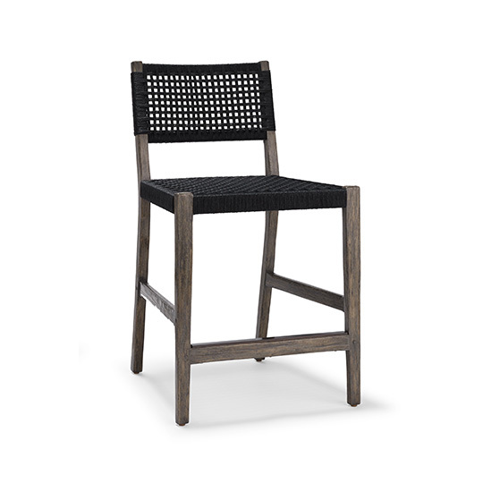 Courtens Counter Stool (armless, Danish cord)