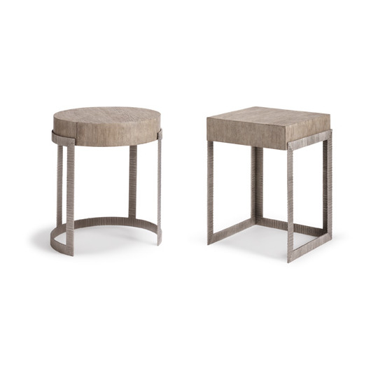 Continental Nightstand (round & square)