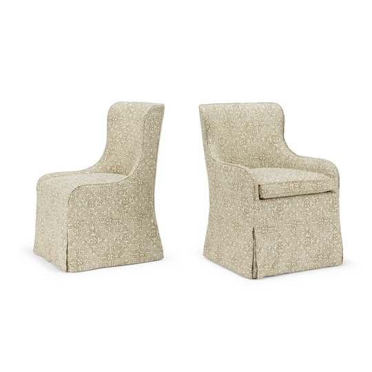 Paloma Dining Lowback Sidechair & Armchair