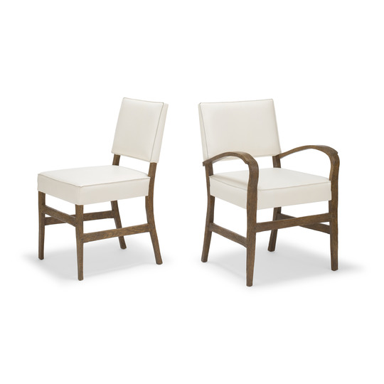 Courtens Dining Sidechair & Armchair (upholstered)