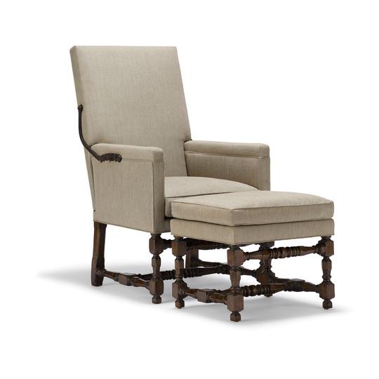 Lyon Chair U0026 Ottoman
