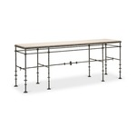 London Iron Console (large)