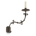 Italian One Arm Iron Sconce