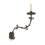Italian One Arm Iron Sconce (small)