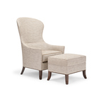 Ottoline Lounge Chair & Ottoman