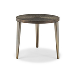 Miró End Table (round, bronze)