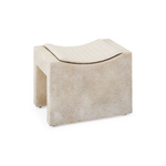 Saddle Stool (composite stone)