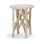 Twig Branch Side Table (composite stone)