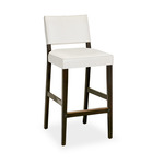 Courtens Barstool (small, armless, upholstered)