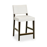 Courtens Counter Stool (small, armless, upholstered)
