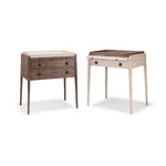 Bonnaire Nightstand (two drawer & one drawer)