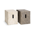 Salerno Stool (composite stone)