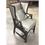 Chinese Chippendale Wing Chair (small)